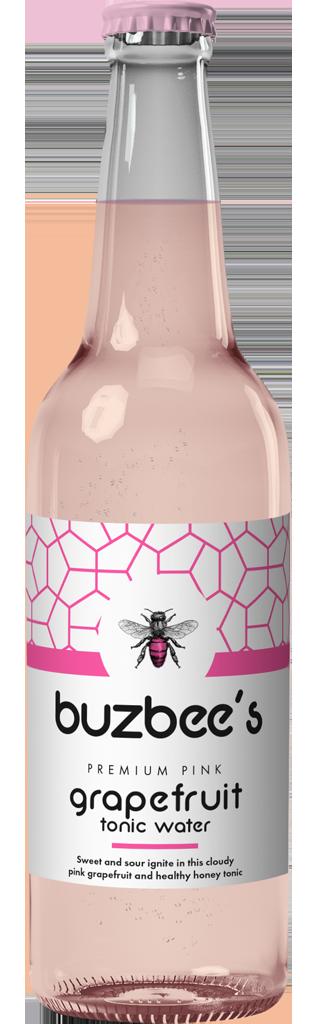 Buzbee's Premium Pink Grapefruit Tonic Water