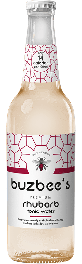Buzbee's Premium Rhubarb Tonic Water